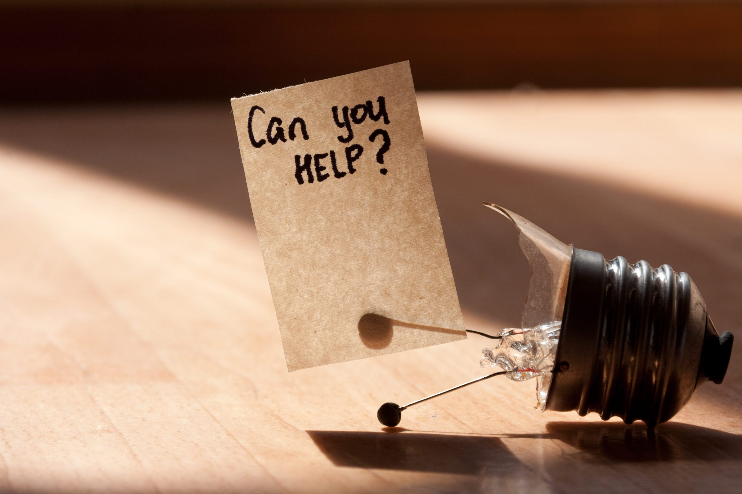 Introverts Struggle in Asking for Help